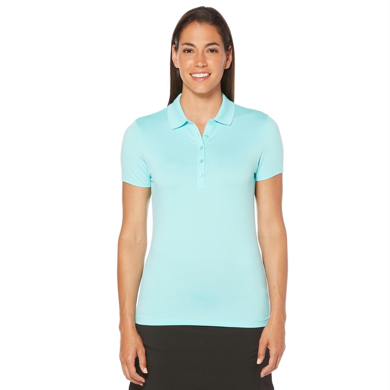 Callaway Opti Dri Micro Hex Short Sleeve Polo Blue L