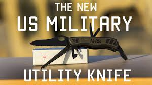 Demo Knife The Knife Combat Utility Nsn 1095 01 653 1166