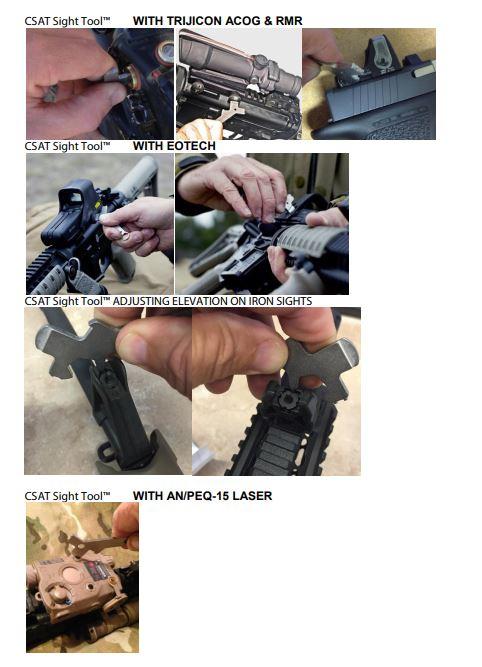 Combat Sight Tool Csat Nsn 1005 01 650 8121 Universal